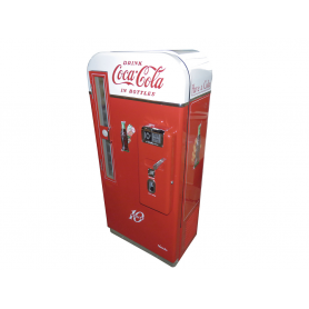 Macchina distributore di Coca Cola. Vendo 81A. 1950.