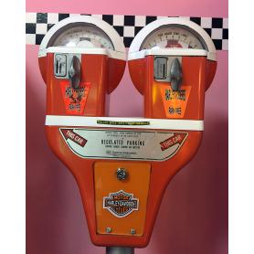 Parking meter. 1960-70. Double. Duncan