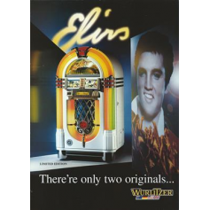 JukeBox. Wurlitzer. ELVIS. Edizione limitata.1996 .