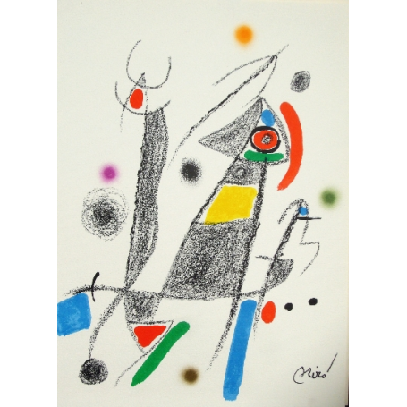Joan Miro - Maravillas con variaciones acros 6