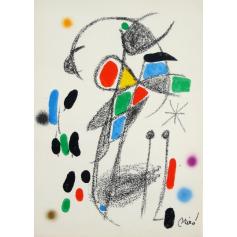 Joan MIRO - Wunder mit variationen acrosticas 18