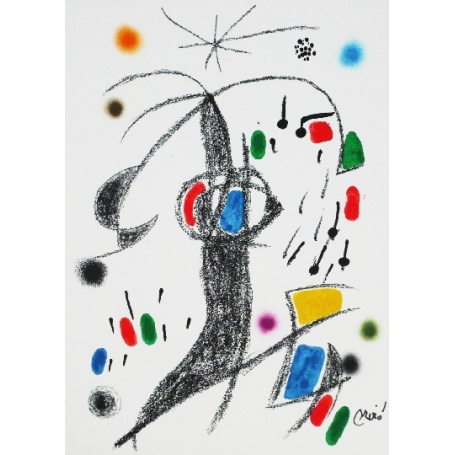 Joan MIRO - Wunder mit variationen acrosticas 19