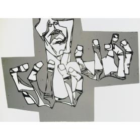 Oswaldo Guayasamin - Les mans de l'Ira