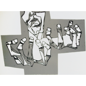 Oswaldo Guayasamin - Las manos de la Ira