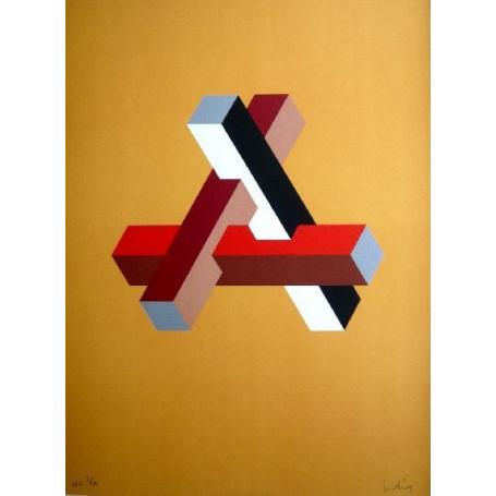 Josep MOLINS - Falsaciones do triángulo de Penrose 11