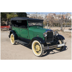 FORD. A. 4/3282cc. 1928. Base. Cabrio.
