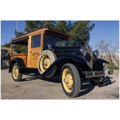 FORD. A. 4/3282cc. 1930. Recollida.