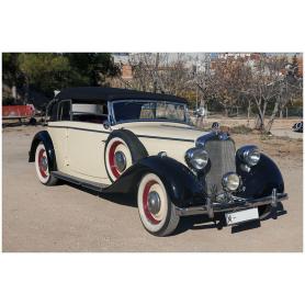 Mercedes Benz. 230. Coupé. Cabriolet B. 6/2289cc. 1940.