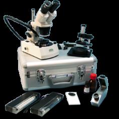 Laboratoires pour les pierres précieuses entièrement équipée KA41KRS