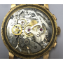 Wristwatch in yellow gold of law.