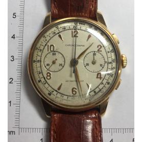 Armbanduhr in gold-gelbes gesetz.