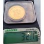 Moneta in oro per commemorare il XXV Giochi Olimpici.