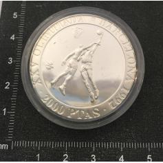 Moneta in argento per commemorare il XXV Giochi Olimpici.