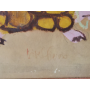 Antoni Vives Fierro (1940). Drawing wax.