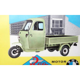 ROA. Motocarro caixa aberta. 297cc. 1966.
