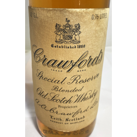 Crawford's Special reserve.1960s.