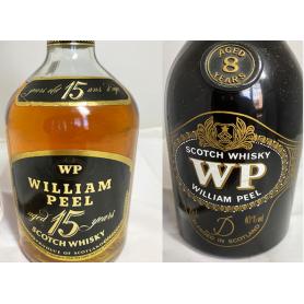 Lote de 2:  William Peel. 15-12 years. 70s-80s.