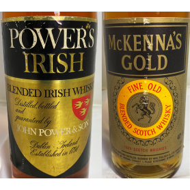 Lote de 2: Powers irish y McKenna's Gold. 70s.