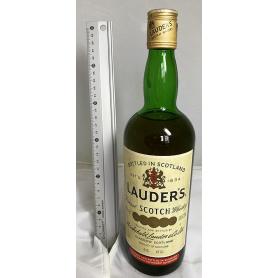 Lauder's. Whisky Scotland. 1970s.