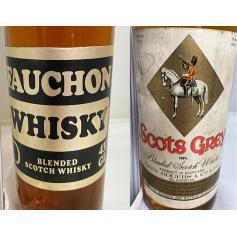 Lote de 2: FAUCHON, SCOTS GREY WHISKY · 70s.