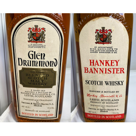 Lote de 2: Glen Drummond, Hankey Bannister. 70s.