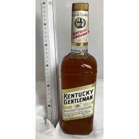 KENTUCKY GENTLEMAN Whisky Bourbon. 70/80s.