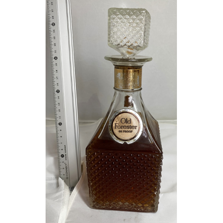 Old Forester. Decanter antiguo bourbon. 1960s.