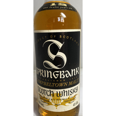 Springbank 12 Year Old Bot.1980s