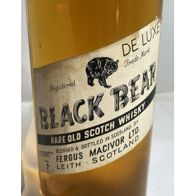 Black Bear Rare Old Scotch Whisky.1970s.
