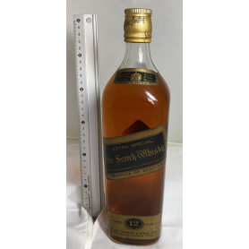 Johnnie Walker Black Label. 12 years old Extra Special.1960/70s.