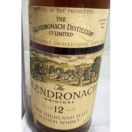 Glendronach Original 12 years. 1960s.