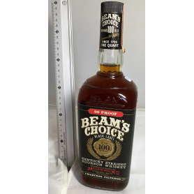 Beams Choice 100 months aged. 1970s.