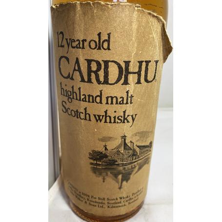 Cardhu 12 years. 1960/70s.