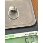 """Ring """"TU i YO"""" in Weißgold des Gesetzes"""