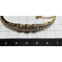 Bracelet esclave Noucentista en or massif.