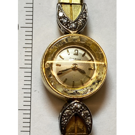 Marke für Damenarmbanduhren: Omega.