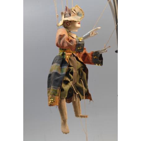 Marioneta de hilos oriental. Oriente medio.