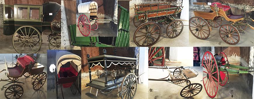 Carriages, Wagons, Carts & Tartanas