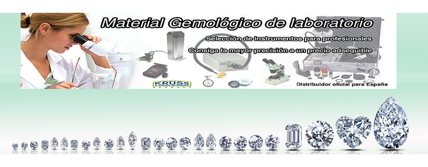 Gemologisches Labormaterial