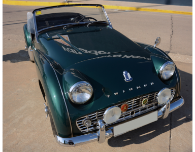 Triumph TR3. Colection: