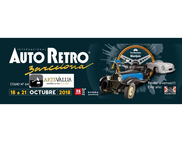 Autoretro 2018 Días: 18-19-20-21 de octubre.